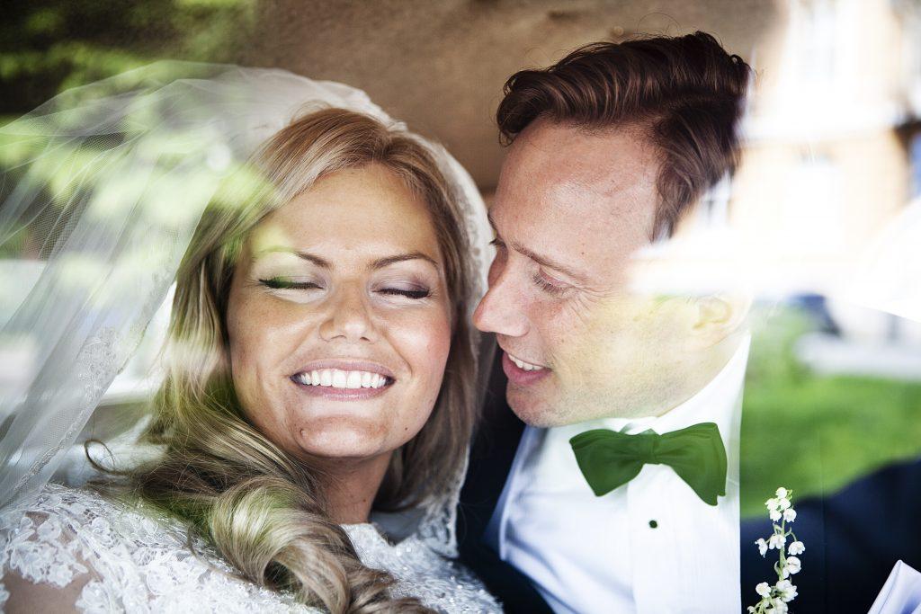 Lykkelig Brudepar