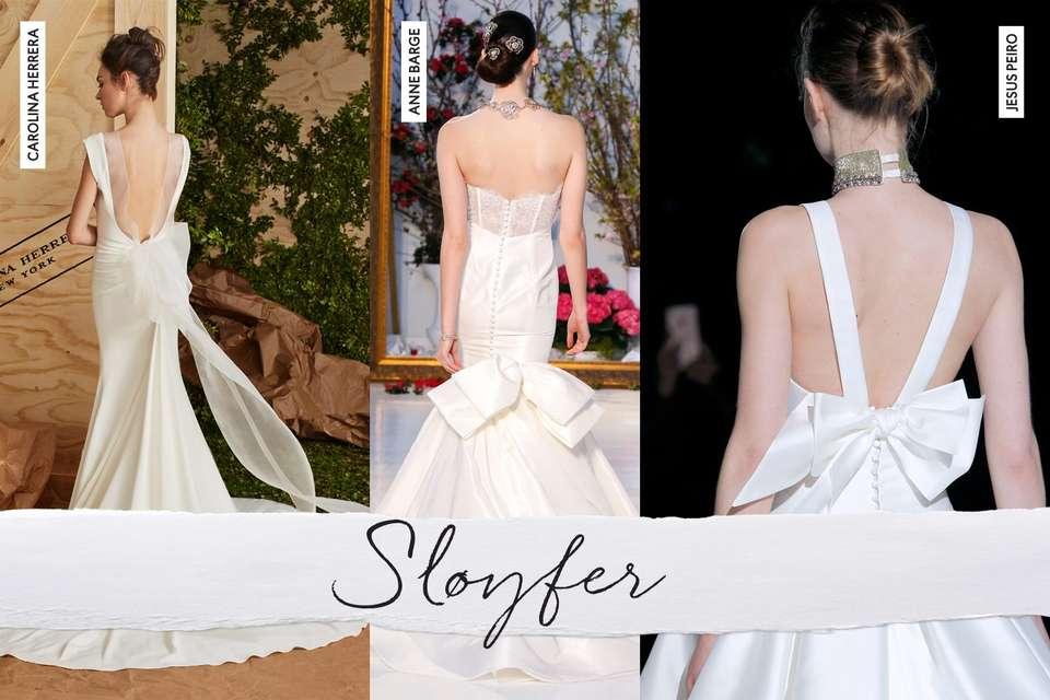 Brudekjoler med Sløyfer